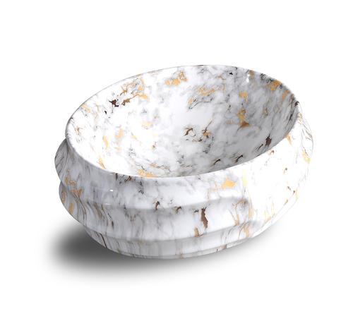 Round-White Wash Basin