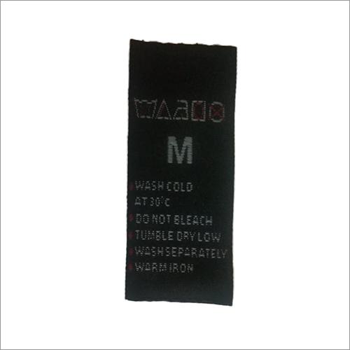Taffeta Garment Size Label