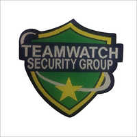 Security Woven Badges
