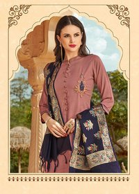 silk suit with banarasi dupatta