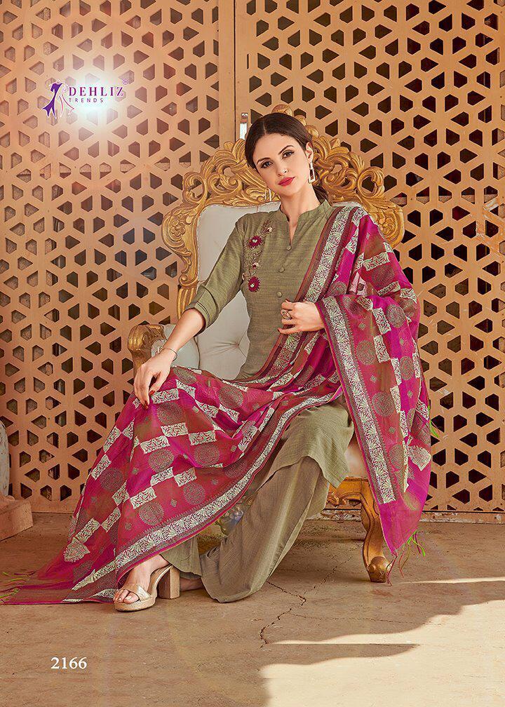 silk suit with banarasi dupatta