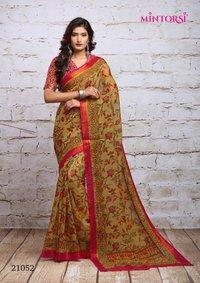 Designer print  saree