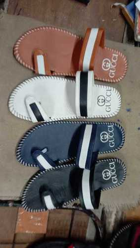 Mens Gucci Side Threaded Slippers