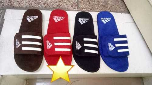 Mens Adidas Canvas Slippers
