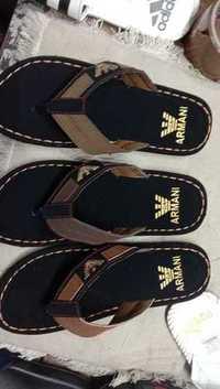 Mens Armani Brand Sports Slippers