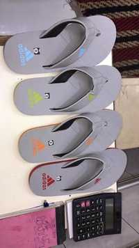 Mens Adidas Grey Sports Slippers