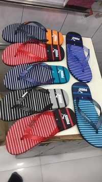 Mens Strip Slippers