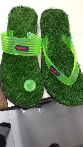 Mens Grassy Sofy Sports Slippers