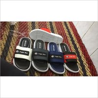 Mens Super Star PU Slide Slippers