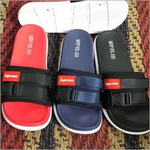 Mens PU Slide Stylish Slippers