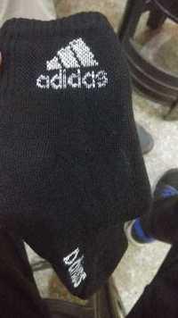 Mens Adidas Black Sports Sock