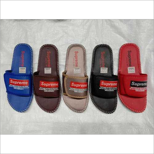 Mens High Quality Supreme Stylish Slippers