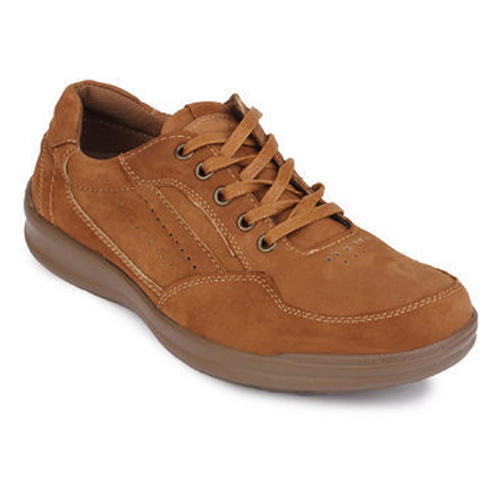 Mens Brown Casual Leather Shoes