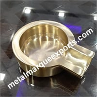 Brass New Look Ash Tray