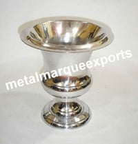 Aluminum Nickel Plated Flower Vase