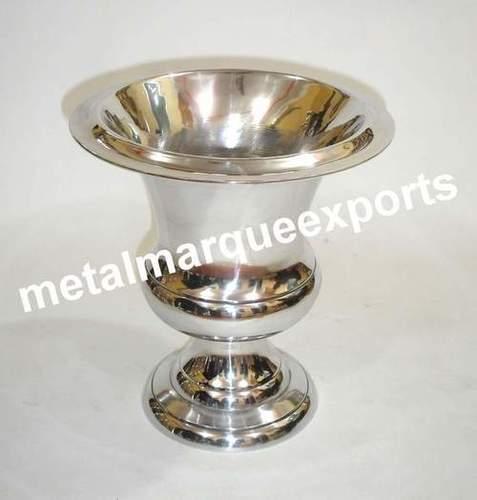Aluminum Nickel Plated Flower Vase