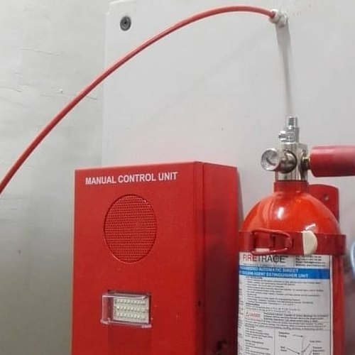 Fire Detection Tube Suppression System
