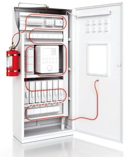 Diffusible FE36 Fire Suppression System