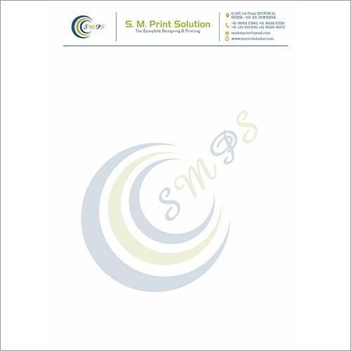Customized Letterhead Printing Service