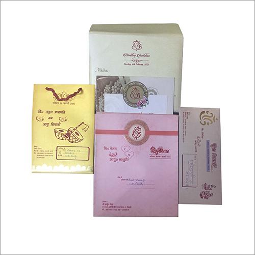 Customized Wedding Card Printing Service