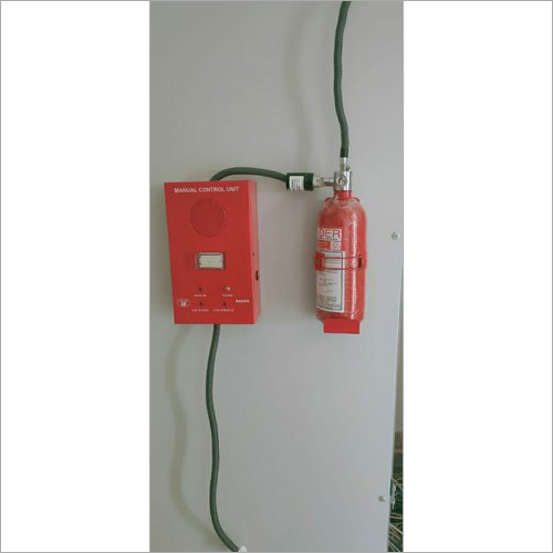 Automatic FM200 Gas Extinguisher System
