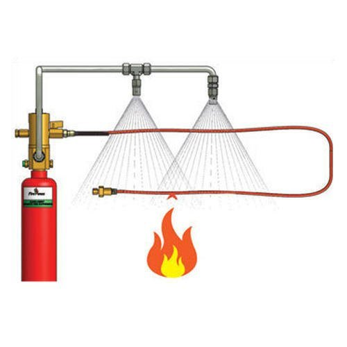Co2 Gas Fire Suppression System