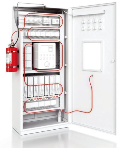 Server Rack Fire Suppression System