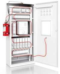 Server Rack Fire Suppression System