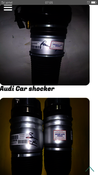 Audi Q7 Front Airmatic Shocker - Front Airmatic Shocker for Audi Q7