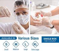 Transparent Disposable Plastic Gloves