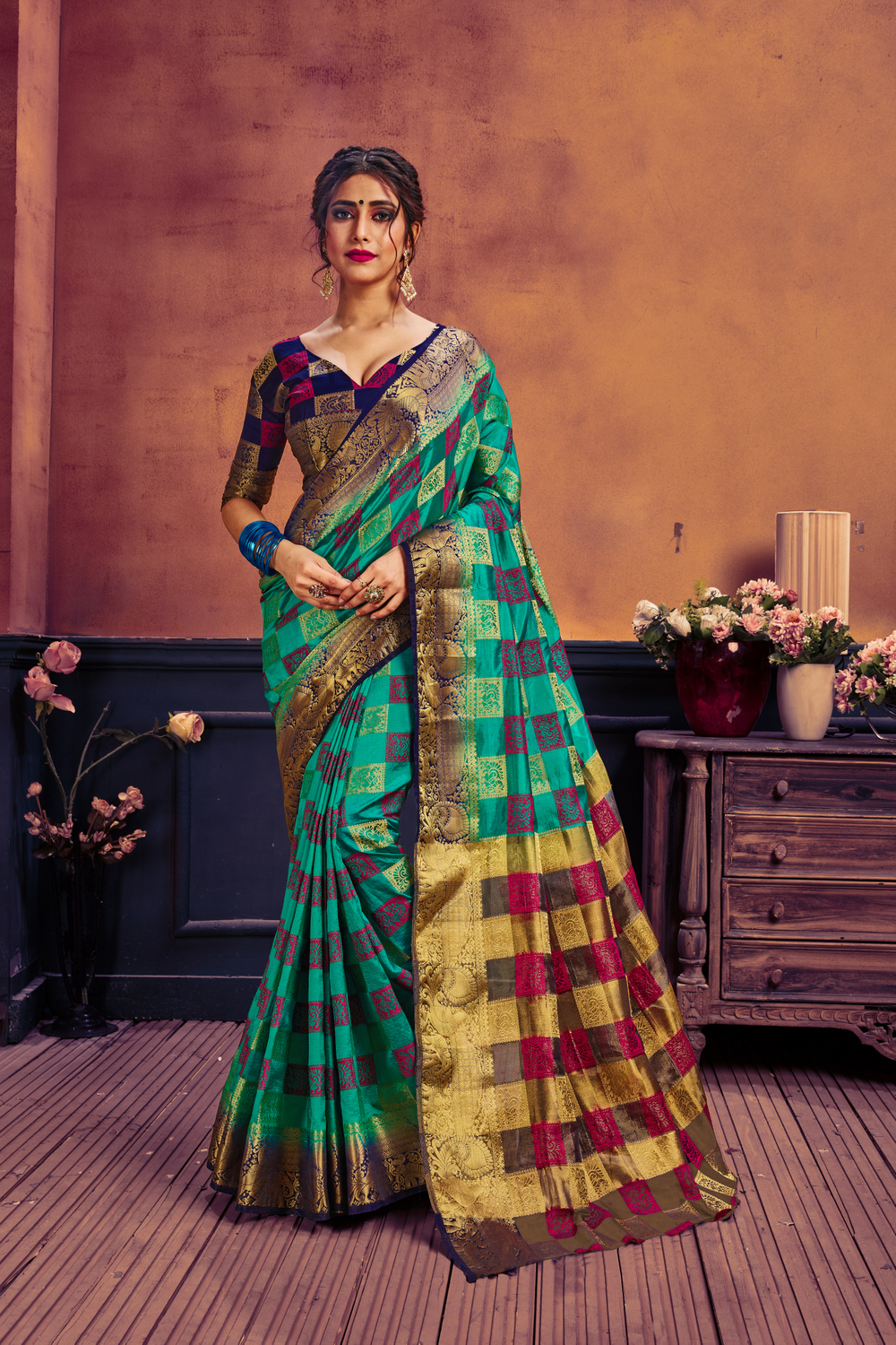 New Nylon Art Silk SAREE