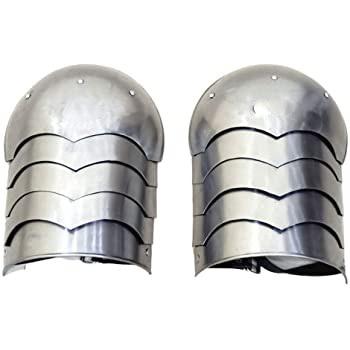 B0855y39fq Medieval Armor Shoulder Pauldron Larp Cosplay