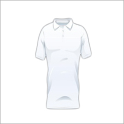 Mens White Collar T-Shirts
