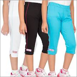 Kids Plain Capri