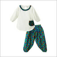 Kids Patiala Pants Set