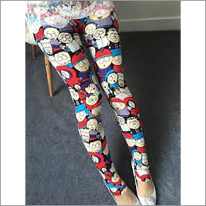 Ladies Cartoon Printed Leggings