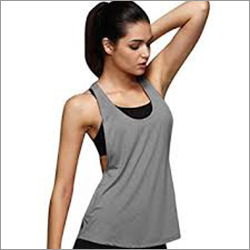 Ladies Plain Tank Top