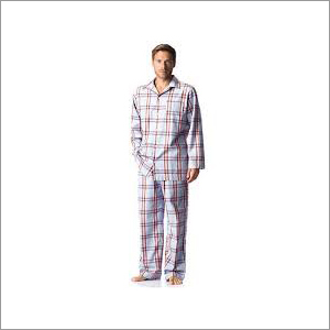 Mens Check Night Suit