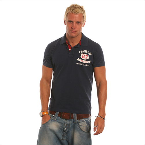 Mens Fancy Polo T Shirt