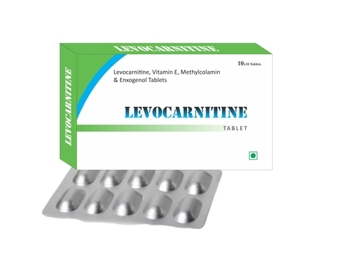 Levocarnitine, Vitamin E, Methylcoblamine & Enxogenol Tablets