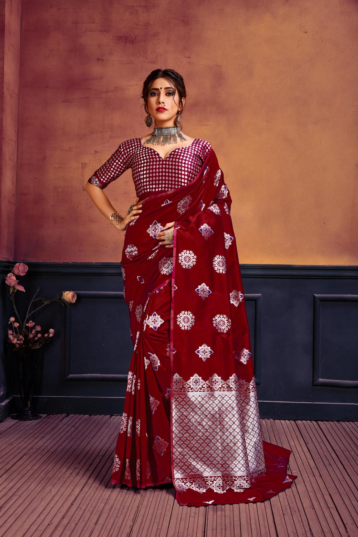 NEW  Lichi Silk SAREES