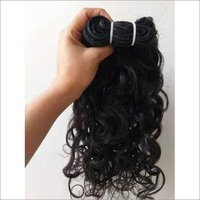 Double Machine Weft Human Hair