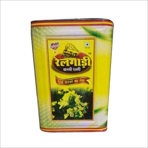 Kachi Ghani Oil Tin Container