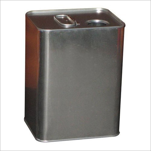Rectangular Oil Tin Container