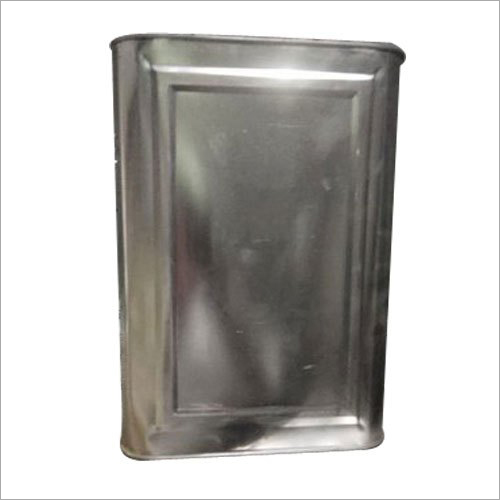 Plain Oil Tin Container