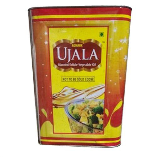 Vegetable Oil Tin Container