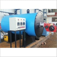 Liquid And  Gas Fuel Fired Hot Water Generator