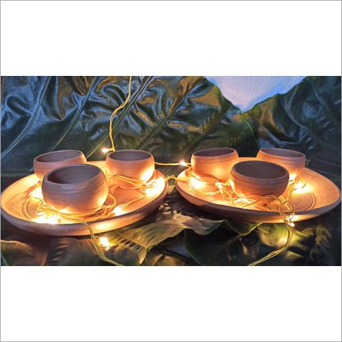 Terracotta Tea Cut Set