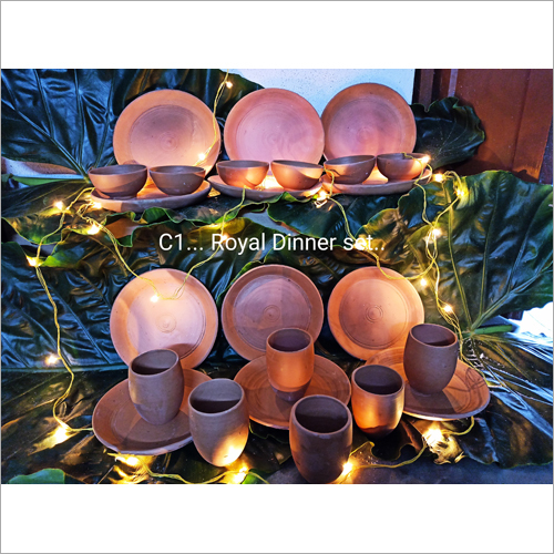 Terracotta Royal Dinner Set
