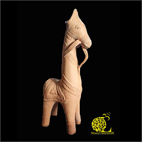 Terracotta Horse Sculpture